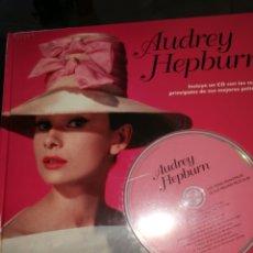 CDs de Música: LIBRO Y CD AUDREY HEPBURN. Lote 217614802