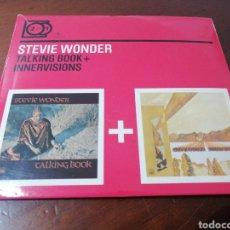 CDs de Música: 2 CD STEVIE WONDER TALKING BOOK + INNERVISIONS 2 FOR 1. Lote 217640753