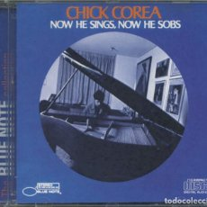 CDs de Música: CHICK COREA – NOW HE SINGS, NOW HE SOBS - CD. Lote 217653107