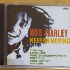CDs de Música: BOB MARLEY (KEEP ON MOVING) CD 1996. Lote 217684921