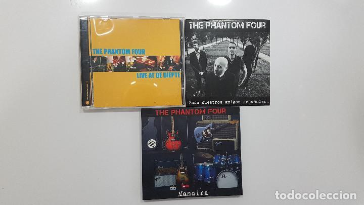 THE PHANTOM FOUR (SURF INSTRUMENTAL HOLANDA) LOTE 3 CDS LIVE + MANDIRA + SURFORAMA AMIGOS ESPAÑOLES (Música - CD's Rock)
