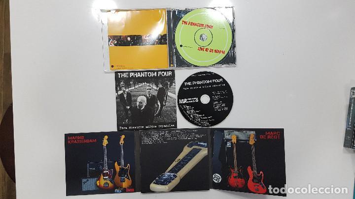 CDs de Música: THE PHANTOM FOUR (surf instrumental Holanda) lote 3 CDs LIVE + MANDIRA + SURFORAMA amigos españoles - Foto 2 - 217689883