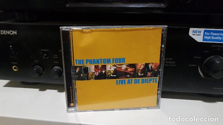 CDs de Música: THE PHANTOM FOUR (surf instrumental Holanda) lote 3 CDs LIVE + MANDIRA + SURFORAMA amigos españoles - Foto 4 - 217689883