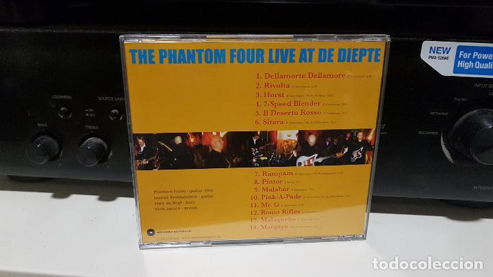 CDs de Música: THE PHANTOM FOUR (surf instrumental Holanda) lote 3 CDs LIVE + MANDIRA + SURFORAMA amigos españoles - Foto 5 - 217689883