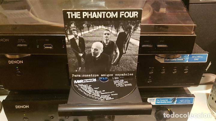 CDs de Música: THE PHANTOM FOUR (surf instrumental Holanda) lote 3 CDs LIVE + MANDIRA + SURFORAMA amigos españoles - Foto 9 - 217689883
