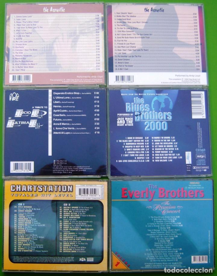 CDs de Música: Lote 6 CDs (The Everly Brothers, Country, Rhithm & Blues, L.Dalla, Charstation, Blues Brothers 2000) - Foto 2 - 217756555