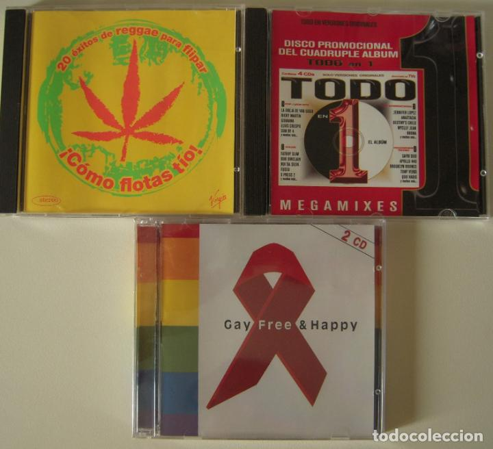 LOTE DE 3 CD´S MUSICA VARIADA (Música - CD's Reggae)
