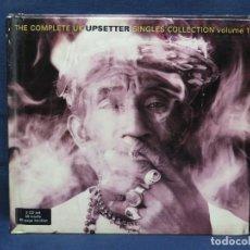 CDs de Música: VARIOS ?– THE COMPLETE UK UPSETTER SINGLES COLLECTION VOLUME 1 - 2 CD. Lote 217846780