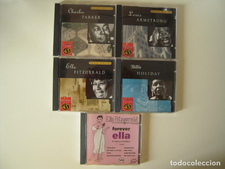 LOTE DE 5 CD´S DE JAZZ (Música - CD's Jazz, Blues, Soul y Gospel)