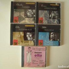 CDs de Música: LOTE DE 5 CD´S DE JAZZ. Lote 217880261