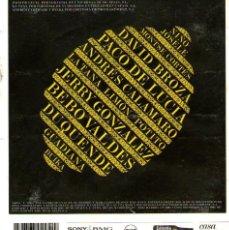 CDs de Música: CASA LIMÓN - VARIOS INTERPRETES - PRODUCIDO POR JAVIER LIMÓN - 11 TRACKS - ED. SONY / BMG - 2005.. Lote 217882143