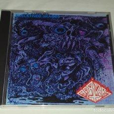 CDs de Música: CD MORTUARY - BLACKENED IMAGES. Lote 217894847