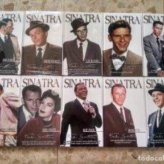 CDs de Música: COLECCIÓN FRANK SINATRA ( 1915 - 1998 ) MKROOM, 2008 - 10 LIBROS + 20 CD´S + REGALO VER. Lote 217909712