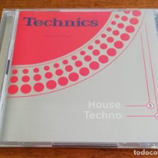 CDs de Música: TECHNICS - THE ORIGINAL SESSIONS (LIMITED EDITION) VOL.II HOUSE+TECHNO - 2CD 1998 VALE MUSIC. Lote 217910971