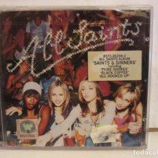 CD de Música: ALL SAINTS - SAINTS & SINNERS - CD - 2000 - GERMANY - NUEVO. Lote 217934922