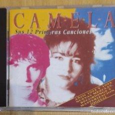 CDs de Música: CAMELA (SUS 12 PRIMERAS CANCIONES) CD 1996. Lote 217939186