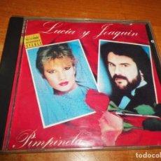 CDs de Música: PIMPINELA LUCIA Y JOAQUIN CD ALBUM 1992 ESPAÑA REDICION DUO DYANGO 10 TEMAS MUY RARO. Lote 217963653