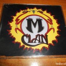 CDs de Música: M-CLAN VUELVE CD SINGLE PROMO DEL AÑO 1994 PRIMER SINGLE CONTIENE 3 TEMAS M CLAN MCLAN MUY RARO. Lote 217963841