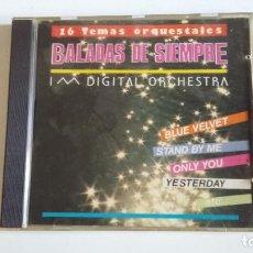 CDs de Música: BALADAS DE SIEMPRE. 16 TEMAS ORQUESTALES. CD. TDKCD30. Lote 217966051