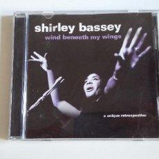 CDs de Música: SHIRLEY BASSEY. WIND BENEATH MY WINGS. A UNIQUE RETROSPECTIVE. CD TDKCD30. Lote 217968373