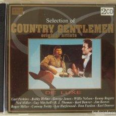 CDs de Música: DOBLE CD DE LUXE DE MUSICA COUNTRY. Lote 217969185