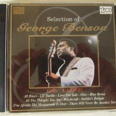 CDs de Música: DOBLE CD DE LUXE CON LAS MEJORES CANCIONES DE GEORGE BENSON. Lote 217969580