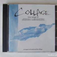 CDs de Música: CD JAPON COLLAGE NINE SONGS OF JOHN LENNON VERSIONES BEATLES COVERS MUY RARO. Lote 217975458