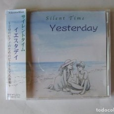 CDs de Música: CD JAPON SILENT TIME YESTERDAY VERSIONES COVERS BEATLES MUY RARO CON OBI. Lote 217976311