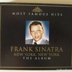 """CDs de Música: """"NEW YORK, NEW YORK, EL ALBUM"""" DE FRANK SINATRA. Lote 217978886"""