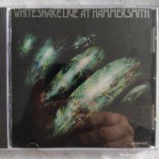 CDs de Música: WHITESNAKE - LIVE AT HAMMERSMITH (CD, ALBUM) (POLYDOR, SUNBURST) POCP-1821 (JAPAN) (D:NM). Lote 217995332