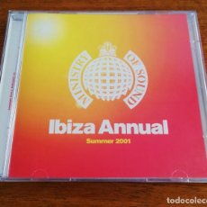 CDs de Música: IBIZA ANNUAL SUMMER 2001 - 2CD MINISTRY OF SOUND. Lote 218013083