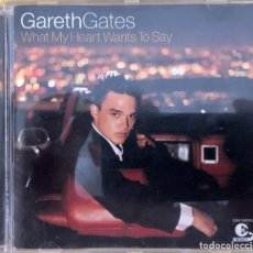 CDs de Música: GARETH GATES ?– WHAT MY HEART WANTS TO SAY. Lote 218020597