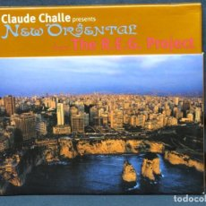 CD de Música: CLAUDE CHALLE PRESENTS THE R.E.G. PROJECT - NEW ORIENTAL - CD. Lote 218027738
