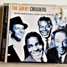 CDs de Música: CD THE GREAT CROONERS. Lote 218038891