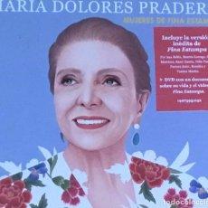 CDs de Música: MARIA DOLORES PRADERA - MUJERES DE FINA ESTAMPA (CD DOBLE). Lote 218046581