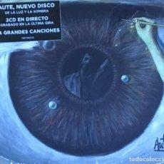 CDs de Música: LUIS EDUARDO AUTE - DE LA LUZ Y LA SOMBRA (2 CDS). Lote 218048523