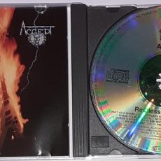 CDs de Música: ACCEPT - RESTLESS AND WILD - 810 987-2. Lote 218089767