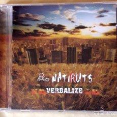 CDs de Música: NATIRUTS . VERBALIZE. Lote 218135796