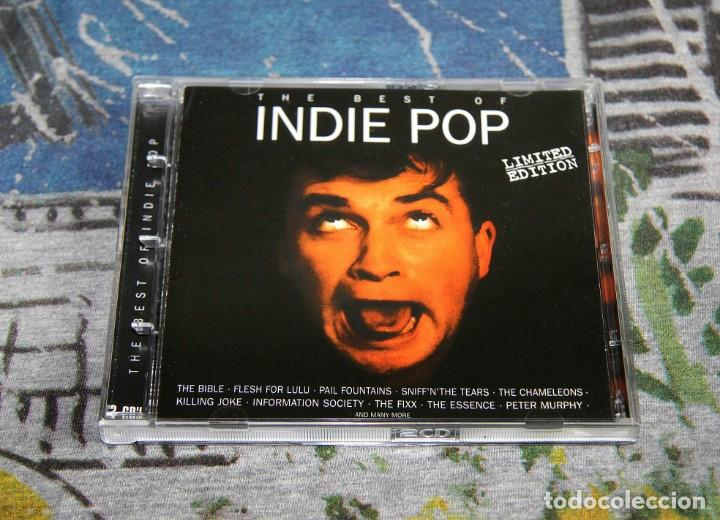 THE BEST OF INDIE POP + BONUS TRACKS - LIMITED EDITION - NMWN 1736 CDTV - MAX MUSIC - 2 CD'S (Música - CD's New age)