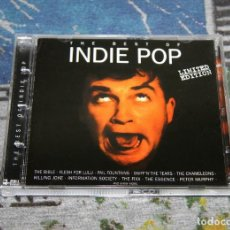 CDs de Música: THE BEST OF INDIE POP + BONUS TRACKS - LIMITED EDITION - NMWN 1736 CDTV - MAX MUSIC - 2 CD'S. Lote 48861185
