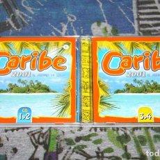 CDs de Música: CARIBE 2001 - KING AFRICA - SONIA & SELENA - EDWIN RIVERA - VLCD 075-1 - VALE MUSIC - 4 CD'S. Lote 48863338
