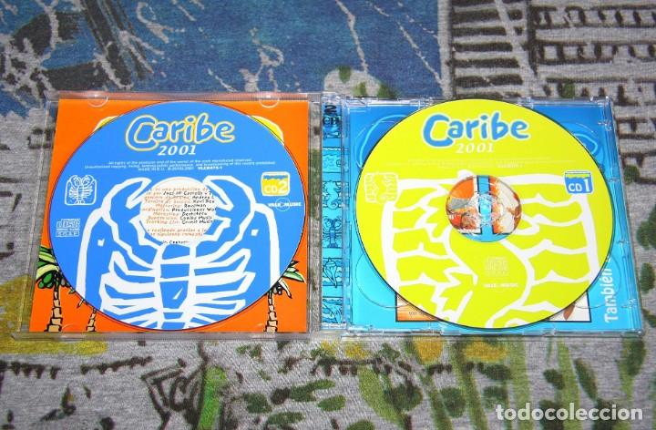CDs de Música: Caribe 2001 - King Africa - Sonia & Selena - Edwin Rivera - VLCD 075-1 - VALE MUSIC - 4 CDs - Foto 2 - 48863338