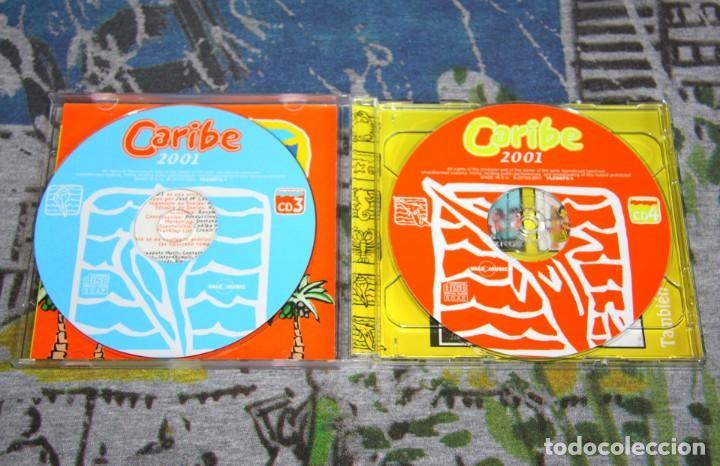 CDs de Música: Caribe 2001 - King Africa - Sonia & Selena - Edwin Rivera - VLCD 075-1 - VALE MUSIC - 4 CDs - Foto 3 - 48863338