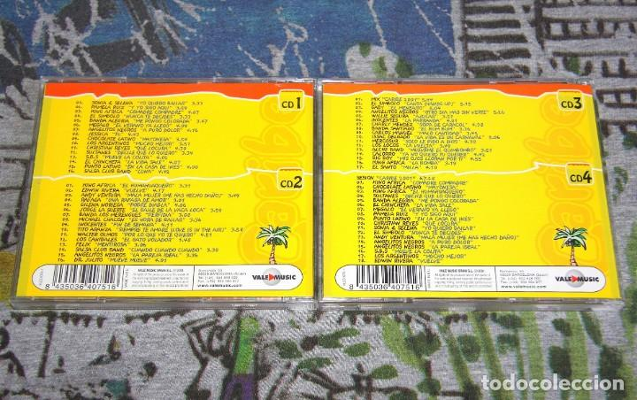 CDs de Música: Caribe 2001 - King Africa - Sonia & Selena - Edwin Rivera - VLCD 075-1 - VALE MUSIC - 4 CDs - Foto 4 - 48863338