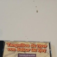 CDs de Música: G-33 CD MUSICA TANGUILLOS DE AYER CON SABOR DE HOY. Lote 218156013