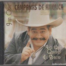 CD di Musica: JUAN ORTIZ - LO QUE QUIERO ES BAILAR - CAMPANADAS DE AMERICA / CD ALBUM 1995 / BUEN ESTADO RF-7612. Lote 218177233