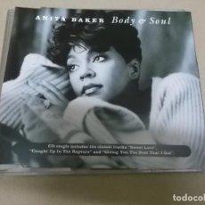 CDs de Música: ANITA BAKER (CD-SINGLE) BODY & SOUL (4 TRACKS) AÑO 1994. Lote 218183953