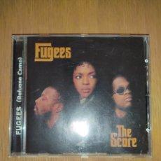 CDs de Música: FUGEES CD THE SCORE. Lote 218189532