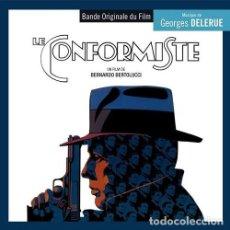 CDs de Música: EL CONFORMISTA - LE CONFORMISTE/LA PETITE FILLE EN VELOURS BLEU MÚSICA COMPUESTA POR GEORGES DELERUE. Lote 218192438