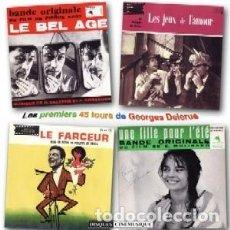 CDs de Música: LES PREMIERS 45 TOURS DE GEORGES DELERUE MÚSICA COMPUESTA POR GEORGES DELERUE. Lote 218192602